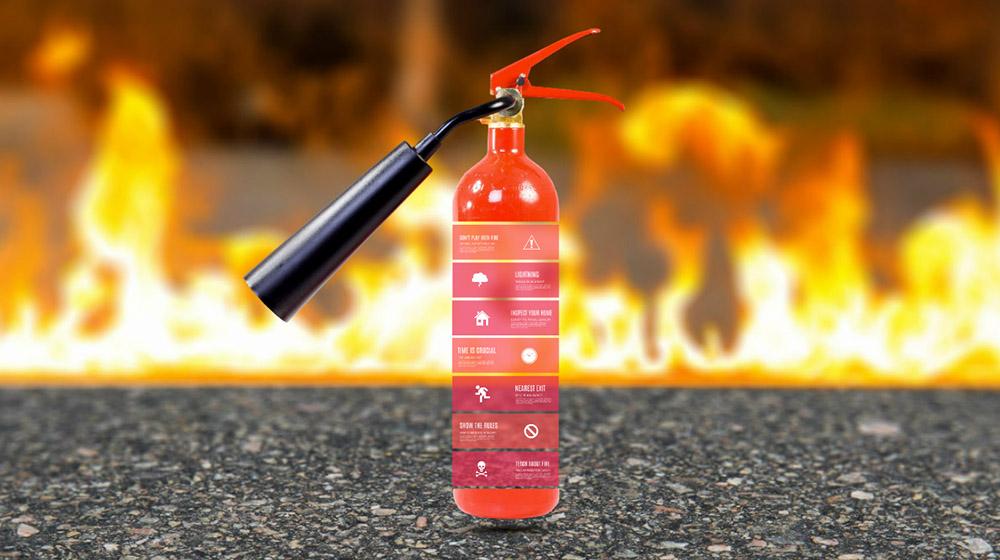 como se fabrica un extintor