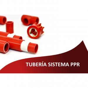 Tubería Sistema PPR